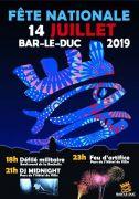 Feu d'Artifice du 14 Juillet à Bar-le-Duc 55000 Bar-le-Duc du 14-07-2019 à 18:00 au 14-07-2019 à 23:59