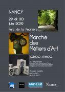 Marché des Métiers d'Art de Nancy Pépinière 54000 Nancy du 29-06-2019 à 10:00 au 30-06-2019 à 19:00