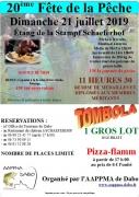 20ème Fête de la Pêche à Schaeferhof Dabo 57850 Dabo du 21-07-2019 à 09:15 au 21-07-2019 à 18:00
