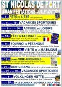 Manifestations de l'Été à Saint-Nicolas-de-Port
