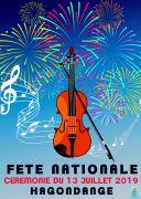 Feux d'Artifice et Fête Nationale à Hagondange 57300 Hagondange du 13-07-2019 à 20:00 au 14-07-2019 à 16:30