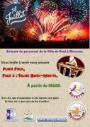 Feu d'Artifice du 14 juillet à Pont-à-Mousson 54700 Pont-à-Mousson du 14-07-2019 à 20:30 au 15-07-2019 à 02:00