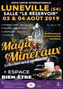 Salon La Magie des Minéraux à Lunéville 54300 Lunéville du 03-08-2019 à 10:00 au 04-08-2019 à 19:00