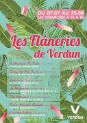 Les Flâneries de Verdun 55100 Verdun du 07-07-2019 à 15:30 au 25-08-2019 à 17:00