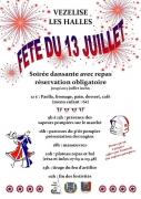 Célébrations Fête Nationale à Vézelise 54330 Vézelise du 13-07-2019 à 09:00 au 14-07-2019 à 02:00
