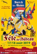 Fête du Château à Sierck-les-Bains 57480 Sierck-les-Bains du 17-08-2019 à 16:00 au 18-08-2019 à 19:00
