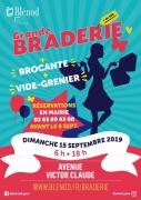 Grande Braderie et Vide-greniers à Blénod-lès-Pont-à-Mousson 54700 Blénod-lès-Pont-à-Mousson du 15-09-2019 à 06:00 au 15-09-2019 à 18:00
