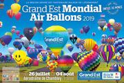 Une Journée au Mondial Air Ballons à Chambley 54890 Chambley-Bussières du 26-07-2019 à 05:00 au 04-08-2019 à 23:59