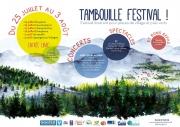 Tambouille Festival dans les Vosges Bruyères, Faucompierre, Champ le Duc, Dompierre, Vervezelle, Lépanges sur Vologne du 25-07-2019 à 19:00 au 03-08-2019 à 01:00