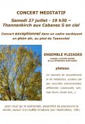 Concert Mediatif à Thannenkirch 68590 Thannenkirch du 27-07-2019 à 19:30 au 27-07-2019 à 23:55