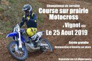 Course sur Prairie Motocross à Vignot 55200 Vignot du 25-08-2019 à 08:00 au 25-08-2019 à 19:00