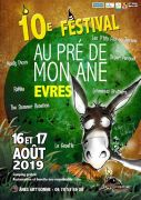 Festival Au Pré de mon Âne à Èvres-en-Argonne 55250 Èvres du 16-08-2019 à 20:00 au 17-08-2019 à 23:59