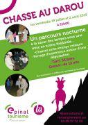La chasse au Darou à Xertigny 88220 Xertigny du 02-08-2019 à 21:00 au 02-08-2019 à 22:30