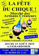 Fête du Chique à Gérardmer 88400 Gérardmer du 15-08-2019 à 10:00 au 15-08-2019 à 18:00