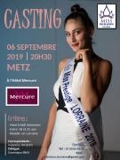 Casting Miss Excellence Lorraine 2019 à Metz