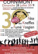 Fête des Kneffles et Fumé Vosgien à Cornimont 88310 Cornimont du 28-07-2019 à 10:00 au 28-07-2019 à 23:00