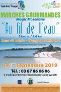 Marches Gourmandes Au fil de l'Eau à Morhange 57645 Morhange du 01-09-2019 à 10:00 au 01-09-2019 à 14:00