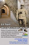 Visites Guidées Fort de la Grande Haye Golbey 88190 Golbey du 17-08-2019 à 15:00 au 27-10-2019 à 16:30
