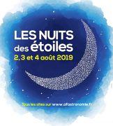 Nuits des Étoiles en Lorraine Meurthe-et-Moselle, Meuse, Moselle et Vosges du 02-08-2019 à 15:00 au 04-08-2019 à 23:59
