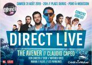 Concert Live Gratuit Pont-à-Mousson Direct FM 54700 Pont-à-Mousson du 31-08-2019 à 20:00 au 31-08-2019 à 23:59