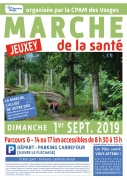 Marche de la santé à Jeuxey 88000 Jeuxey du 01-09-2019 à 08:30 au 01-09-2019 à 15:00