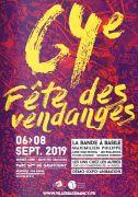 Fête des Vendanges à Villers-lès-Nancy 54600 Villers-lès-Nancy du 06-09-2019 à 20:45 au 08-09-2019 à 20:00