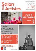 Salon des Artistes à Cirey-sur-Vezouze 54480 Cirey-sur-Vezouze du 07-09-2019 à 13:00 au 08-09-2019 à 19:00
