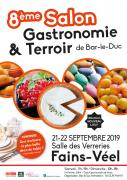 Salon Gastronomie et Terroir à Bar-le-Duc 55000 Bar-le-Duc du 21-09-2019 à 11:00 au 22-09-2019 à 18:00