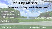 Séance Zen au Parc de Brabois à Villers-lès-Nancy 54000 Nancy du 25-07-2019 à 12:25 au 27-08-2019 à 15:00