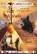 Fête Médiévale à Virecourt 54290 Virecourt du 08-09-2019 à 10:00 au 08-09-2019 à 18:30