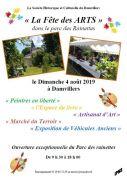 Fête des Arts Damvillers Marché Terroir Véhicules Anciens  55150 Damvillers du 04-08-2019 à 10:00 au 04-08-2019 à 18:00