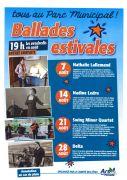 Ballades Estivales d'Ars-sur-Moselle 57130 Ars-sur-Moselle du 02-08-2019 à 19:00 au 23-08-2019 à 19:00
