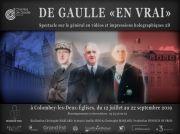 Spectacle 'De Gaulle en Vrai' à Colombey 52330 Colombey-les-Deux-Eglises du 12-07-2019 à 18:00 au 22-09-2019 à 20:30