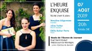 Récital Chant Lyrique Malancourt-la-Montagne 57360 Amnéville du 07-08-2019 à 20:00 au 07-08-2019 à 21:30