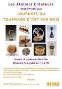Journées du Tournage d'Art sur Bois à Mittelhausen 67170 Mittelhausen du 12-10-2019 à 14:00 au 13-10-2019 à 19:00