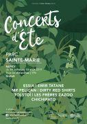 Concerts d'Été au Parc Sainte-Marie à Nancy 54000 Nancy du 14-07-2019 à 17:00 au 18-08-2019 à 18:30