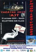 Pièce de Théâtre La Carte de Visite à Capavenir-Vosges 88150 Thaon-les-Vosges du 13-10-2019 à 15:00 au 13-10-2019 à 17:00