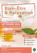 Salon Bien-Être et Relaxation Saint-Dié-des-Vosges 88100 Saint-Dié-des-Vosges du 07-09-2019 à 09:00 au 08-09-2019 à 18:00