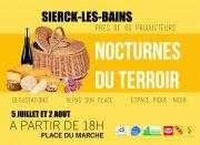 Les Nocturnes du Terroir à Sierck-Les-Bains 57480 Sierck-les-Bains du 02-08-2019 à 18:00 au 02-08-2019 à 23:30