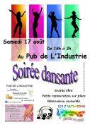 Soirée Dansante au Pub de l'Industrie à Dombasle 54110 Dombasle-sur-Meurthe du 17-08-2019 à 18:00 au 18-08-2019 à 02:00