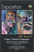 Exposition Art-Essence.3 à Essey-lès-Nancy 54270 Essey-lès-Nancy du 21-09-2019 à 14:00 au 29-09-2019 à 18:00