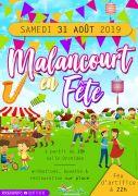 Village en Fête à Malancourt-la-Montagne 57360 Amnéville du 31-08-2019 à 18:00 au 31-08-2019 à 23:00