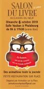 Salon du Livre Occasion ou Neuf à Phalsbourg 57370 Phalsbourg du 06-10-2019 à 09:00 au 06-10-2019 à 17:30