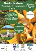 Sortie Nature au Château de Gombervaux Vaucouleurs 55140 Vaucouleurs du 15-09-2019 à 14:00 au 15-09-2019 à 17:00