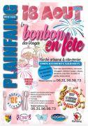Le Bonbon des Vosges en Fête à Plainfaing 88230 Plainfaing du 18-08-2019 à 07:00 au 18-08-2019 à 17:00