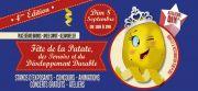 Fête de la Patate à Saint-Max 54130 Saint-Max du 08-09-2019 à 10:00 au 08-09-2019 à 19:00