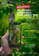 Jardin Botanique en Réalité Augmentée Villers-lès-Nancy 54600 Villers-lès-Nancy du 19-08-2019 à 10:00 au 30-06-2020 à 20:00