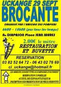 Vide-grenier des Sapeurs Pompiers à Uckange 57270 Uckange du 29-09-2019 à 06:00 au 29-09-2019 à 18:00