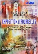 Exposition d'Aquarelles à La Douëra Malzéville 54220 Malzéville du 21-08-2019 à 14:18 au 01-09-2019 à 14:18