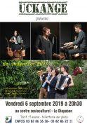 Concert Les InTempor'ElleS Trio vocal instrumental Uckange 57270 Uckange du 06-09-2019 à 20:30 au 06-09-2019 à 22:30